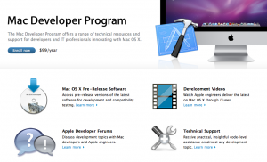 Mac Developer Program